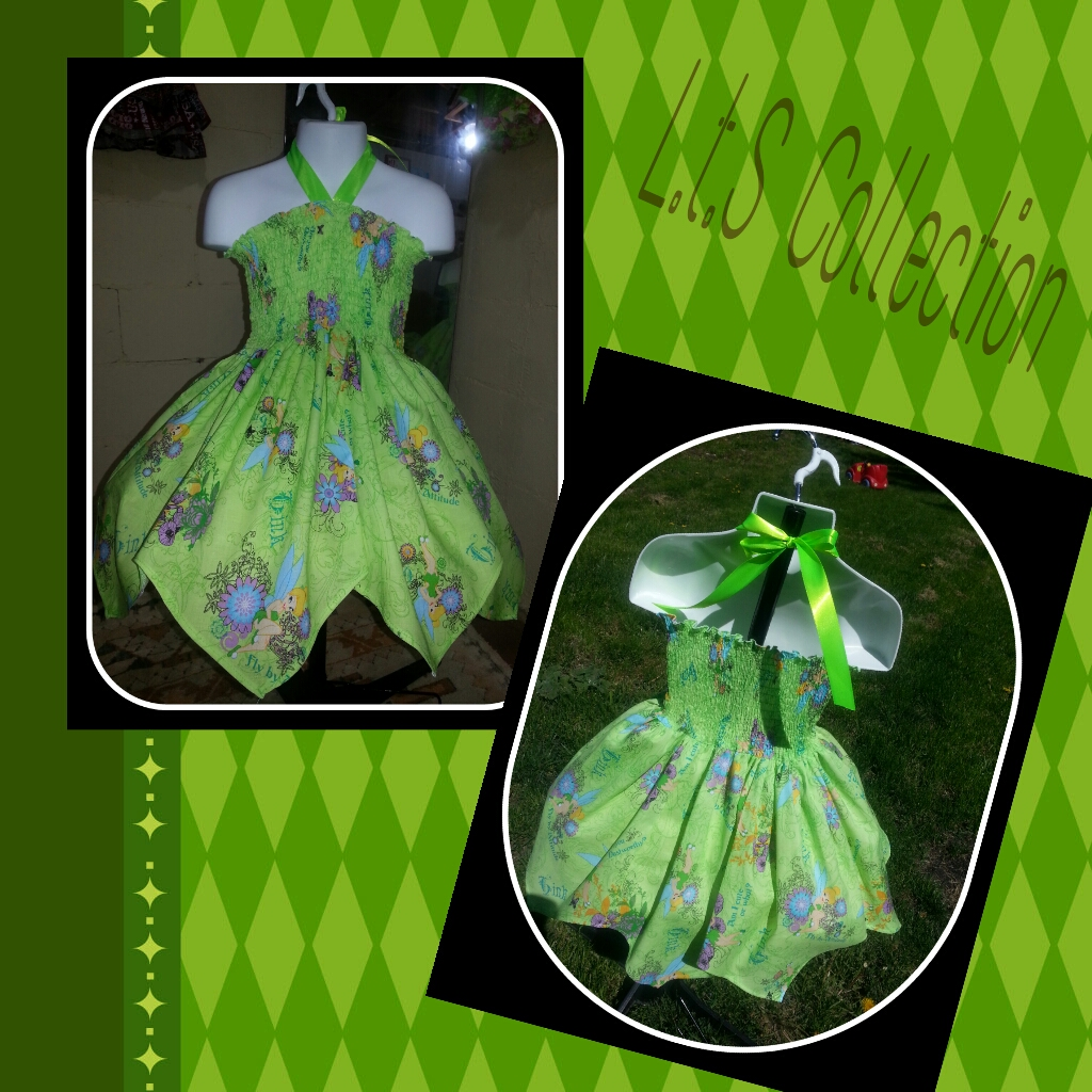 TINKERBELL HALTER DRESS