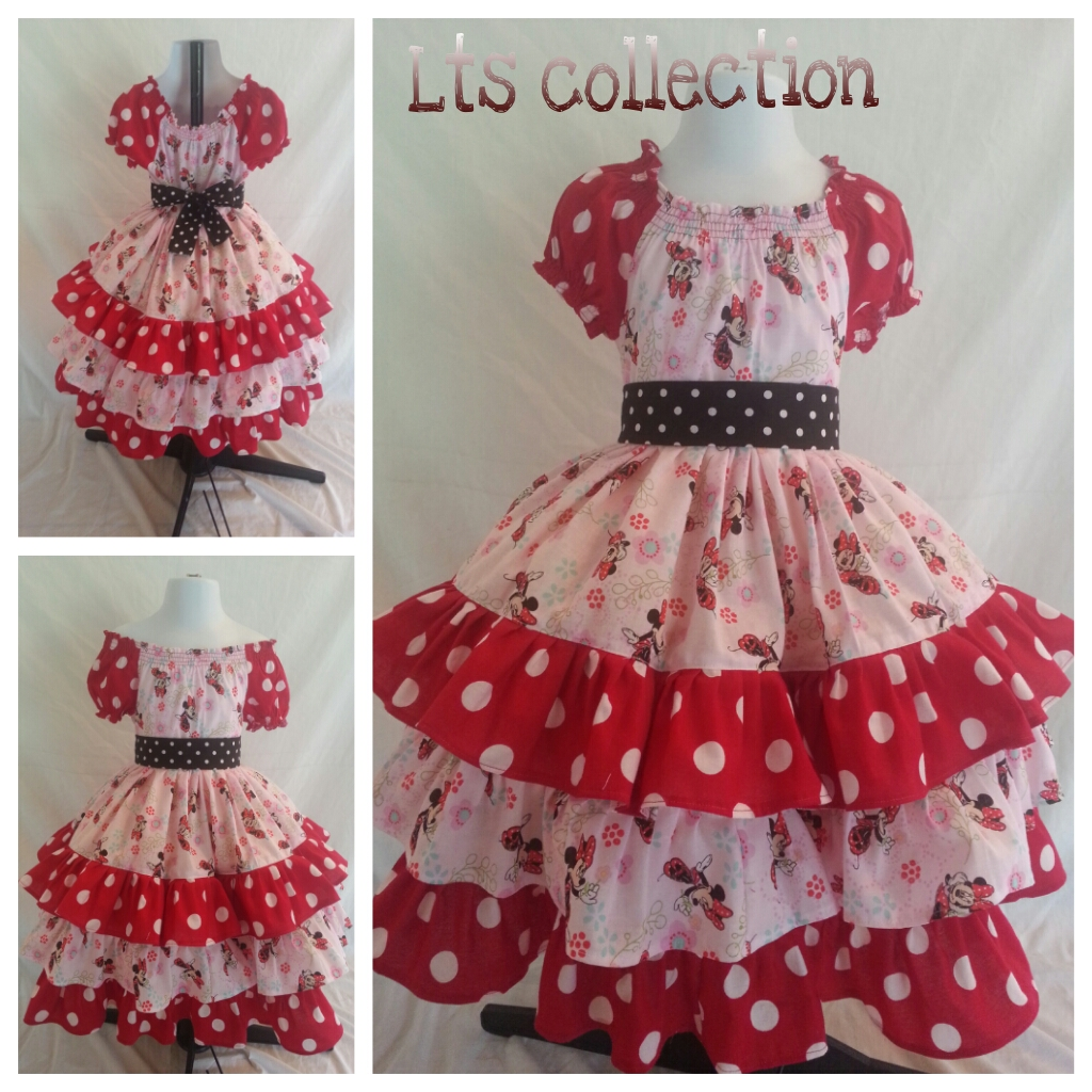 Minnie Mouse peasant dress.