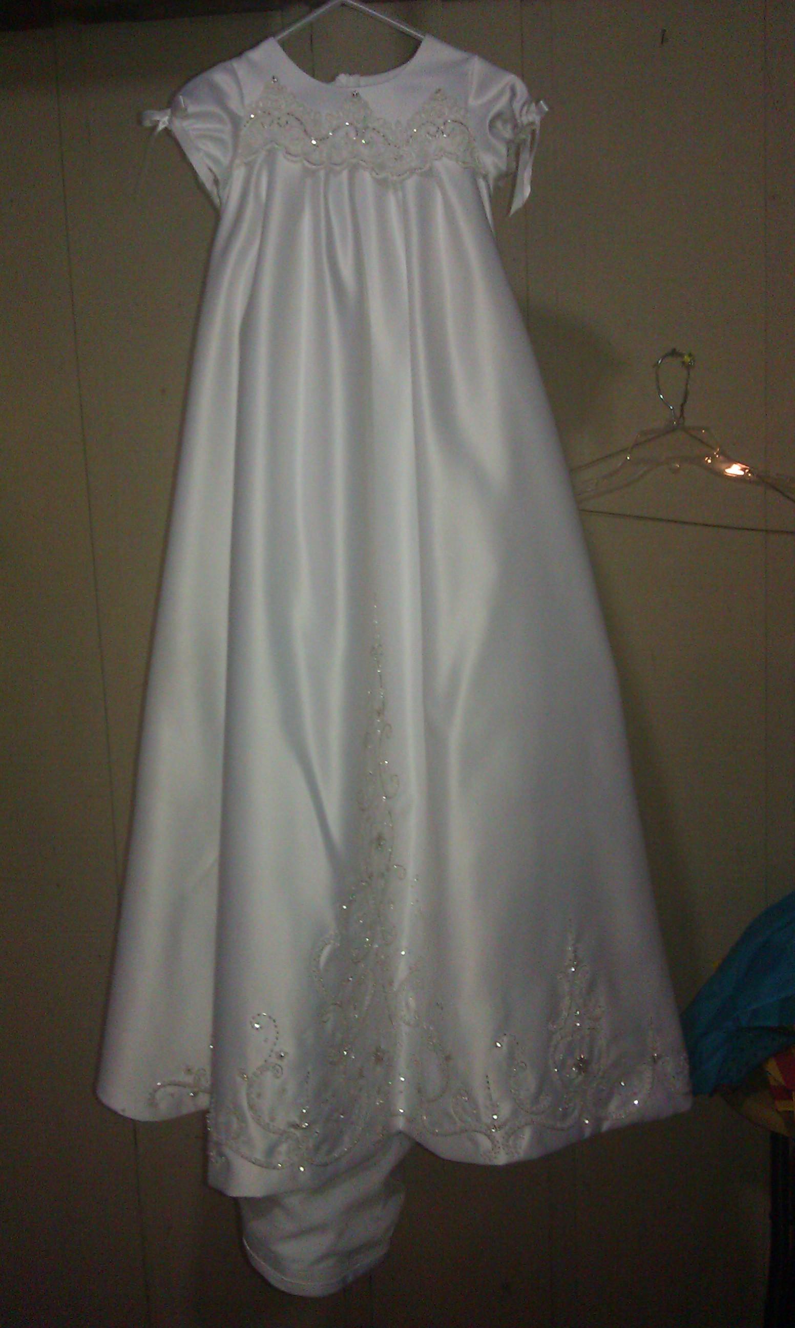 Chistening dress